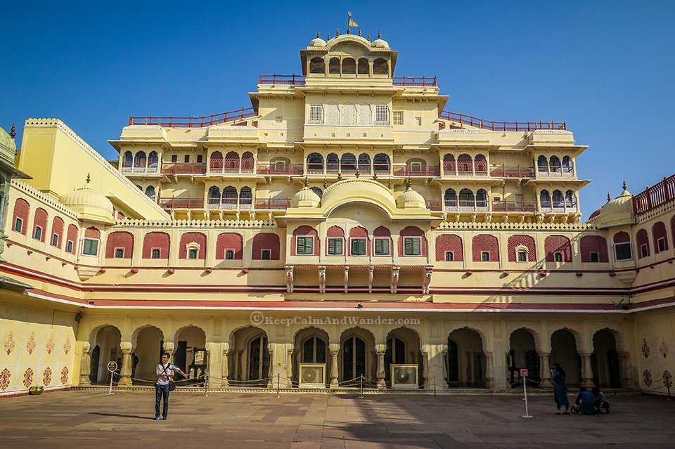 Jaipur City Palace - Your Window to Royal Extravagance (Chandra Mahal - Pink City, Jaipur, India).