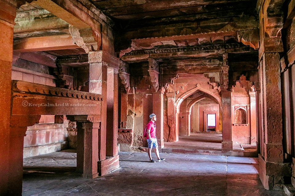 Fatehpur Sikri in Agra - City of Victory (India).