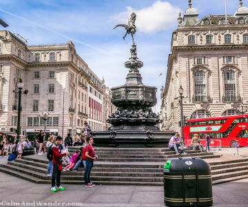 I'll Meet You at the Statue of Eros at Piccadilly (London)