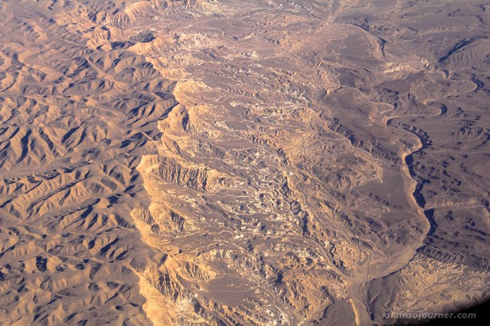 View from the Top Cairo to Amman Desert