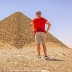 Photos: Inside the Red Pyramid in Cairo