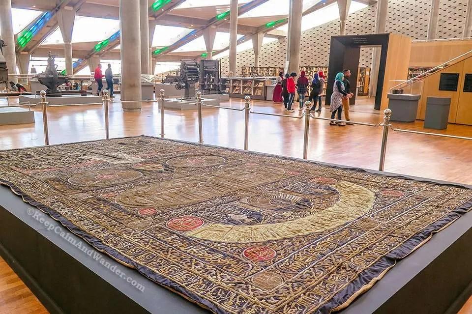 The Modern Bibliotheca Alexandrina (Egypt).