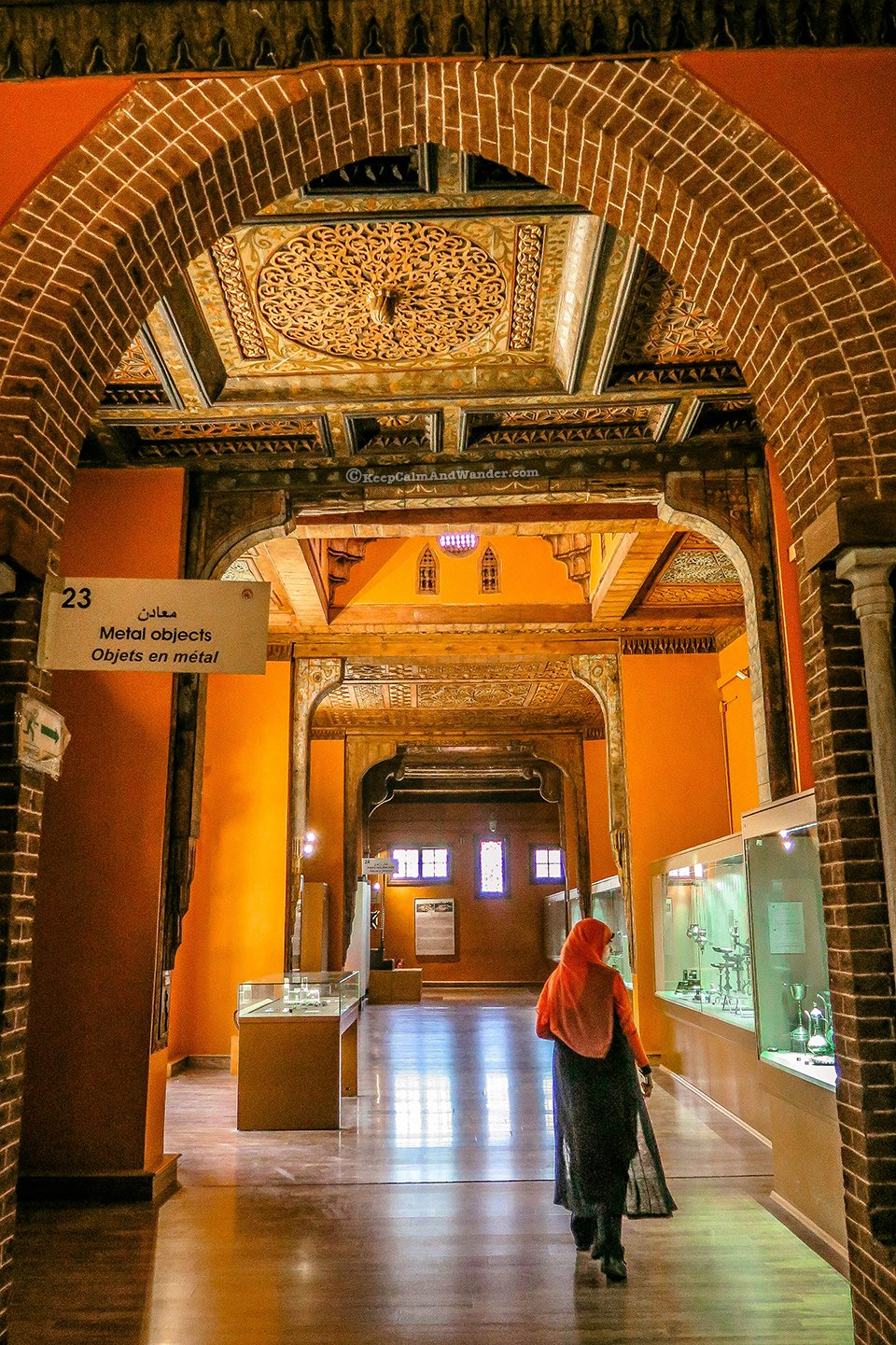 Coptic Museum in Cairo has the World's Largest Collection of Coptic Artifacts (Cairo, Egypt).