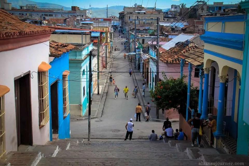 Padre Pico Steps Santiago de Cuba