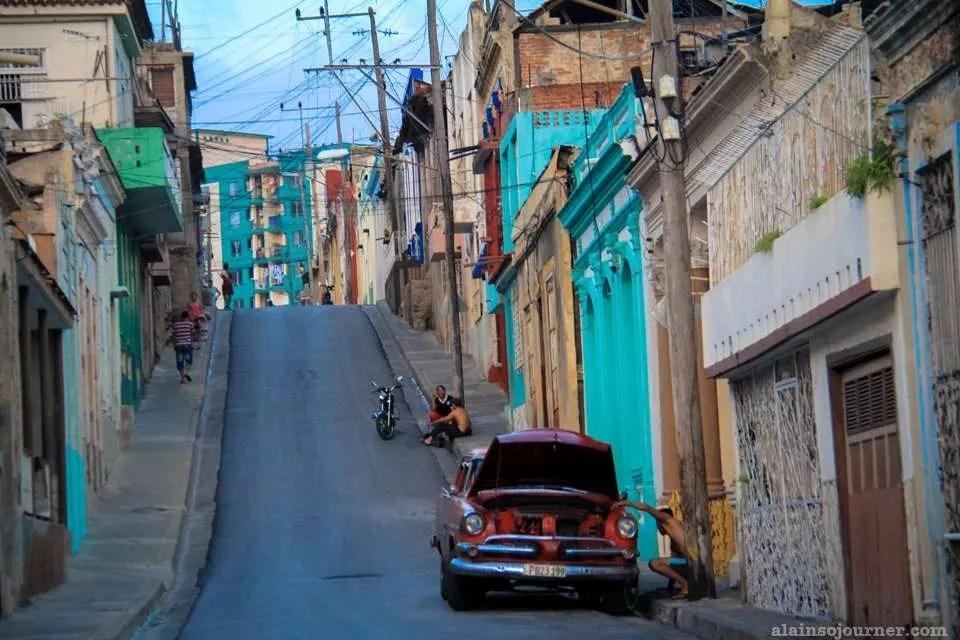 Santiago de Cuba Street