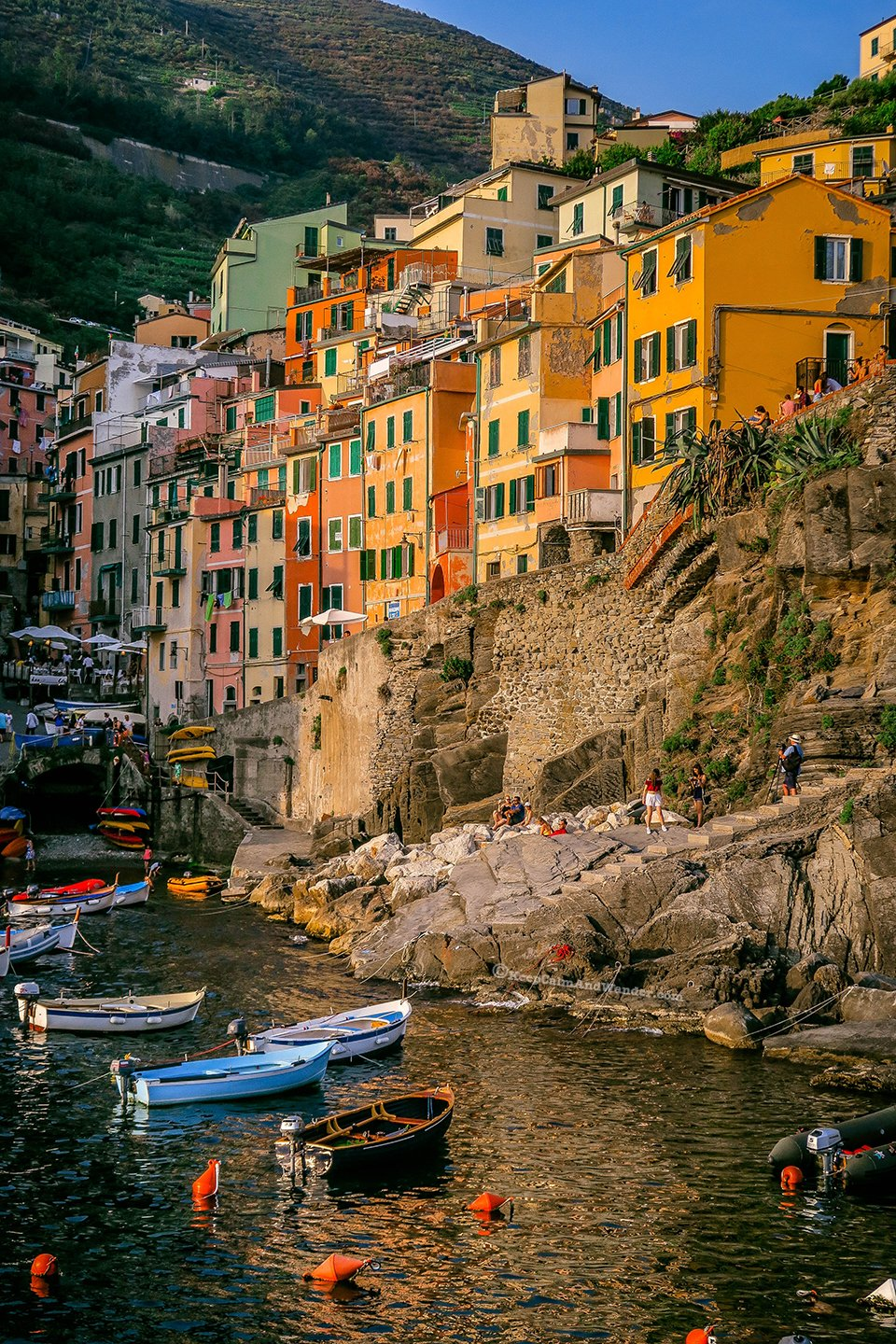 Riomaggiore in Cinque Terre is Your Postcard Perfect Place in Italy.