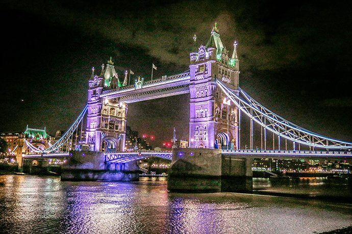 Tower Bridge Gothic Revival Photo