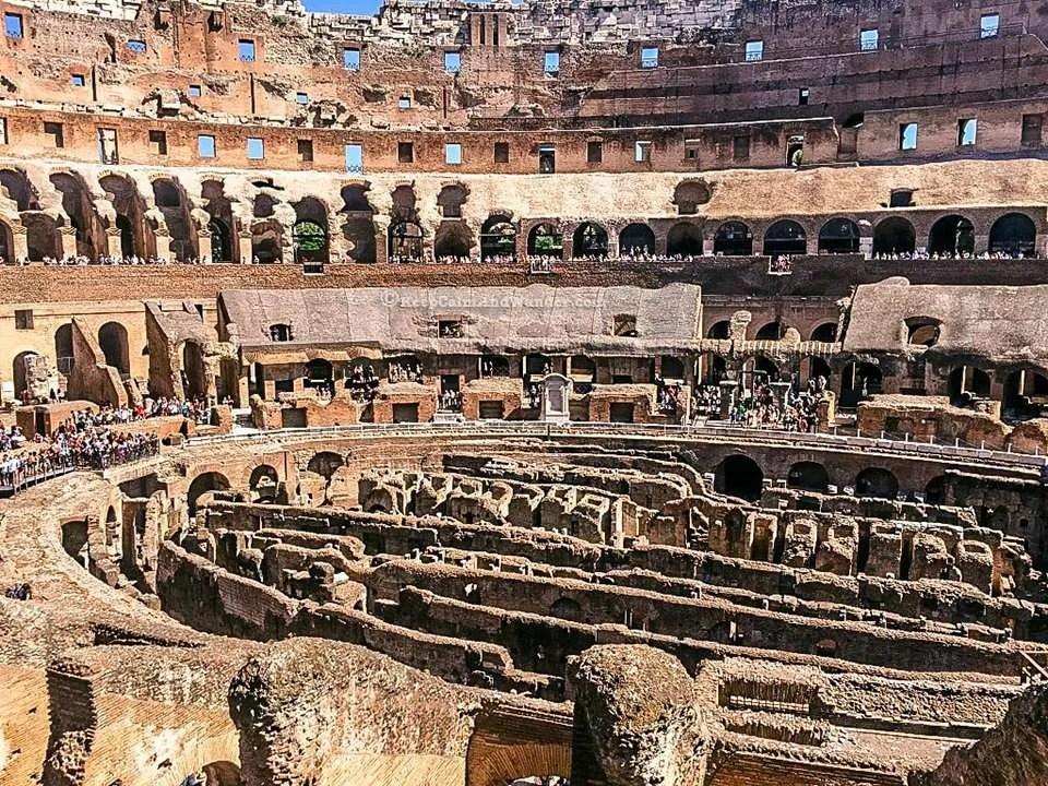 take a peek inside the roman colosseum