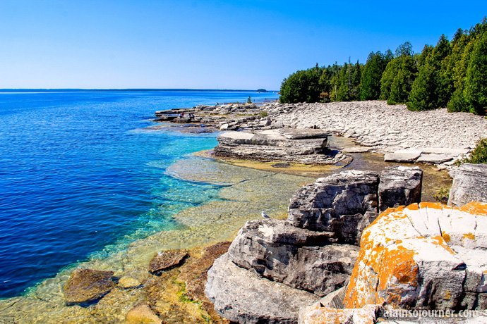 Flowerpot Island Things to do