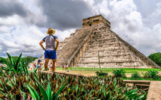 One Day Sightseeing Tour Outside Cancun (Chichen Itza, Mexico).