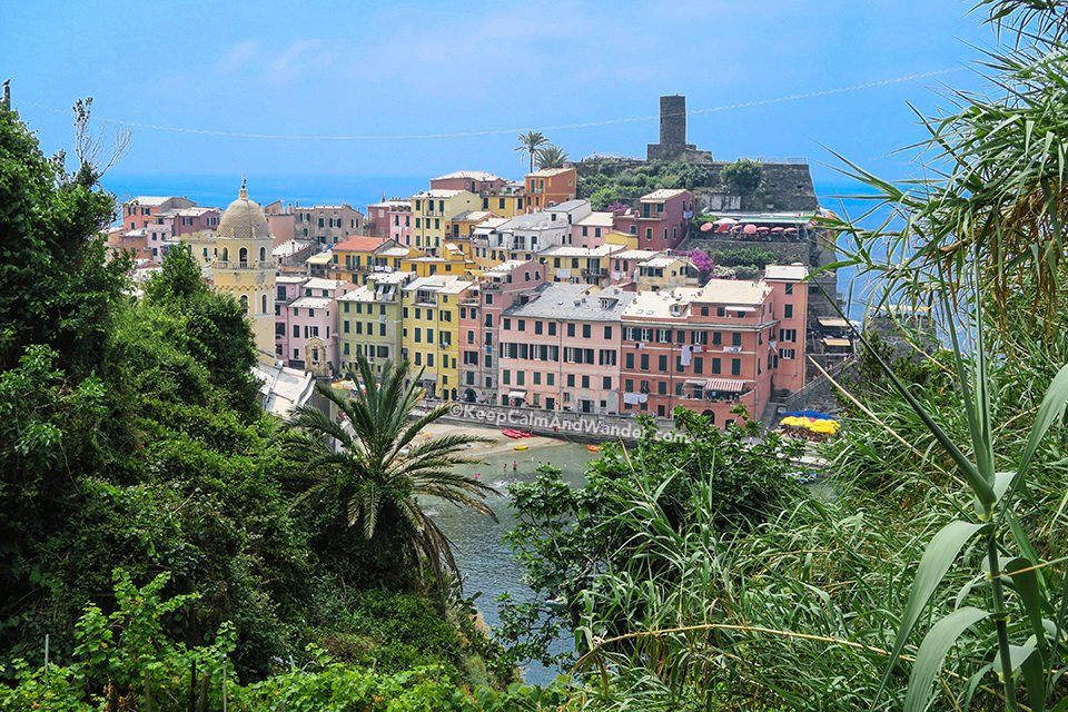 Veranda is The Steepest of the Five Villages in Cinque Terre (Italy).