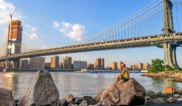Manhattan Bridge (Dumbo, Brooklyn, New York).