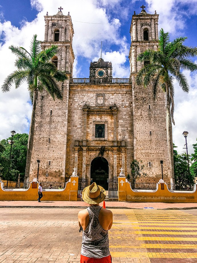 One Day Sightseeing Tour Outside Cancun (Valladolid, Mexico).