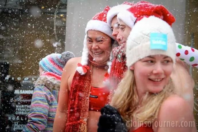 Toronto Naked Santas Run 2013