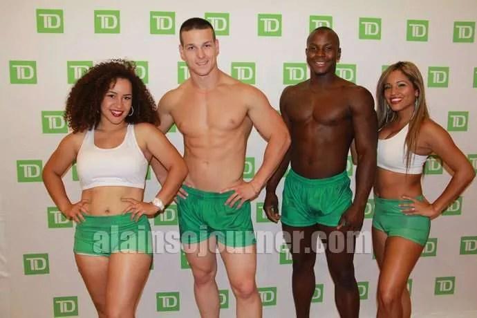 TD Boys 2013 Toronto Pride Launch