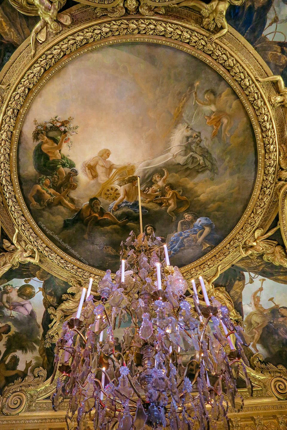 Apollo Room / Take A Peek: The Stately Rooms of the Palace of Versailles (France).