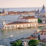 Cityscape: View of Venice from the Top of San Marco Campanile