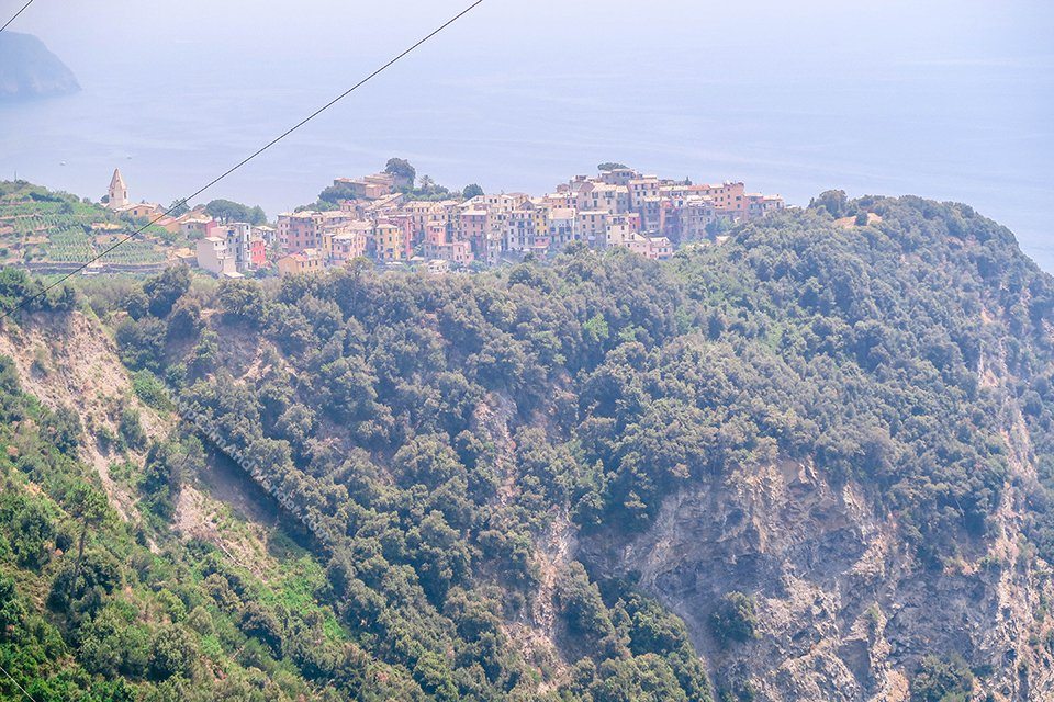 Corniglia is the Oldest Village in Cinque Terre Mentioned in Decameron (Italy).