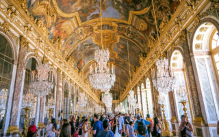 Inside the Palace of Versailles: The Hall of Mirrors is the Grandest of Them All (France).