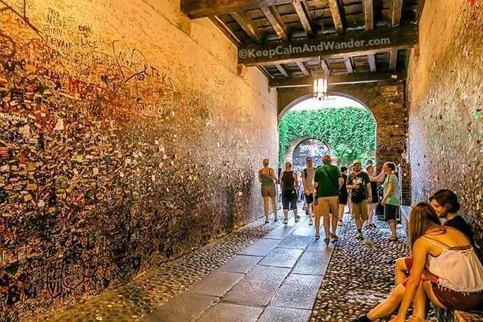 My Romeo Didn't Show Up at Juliet's Balcony in Verona (Italy).