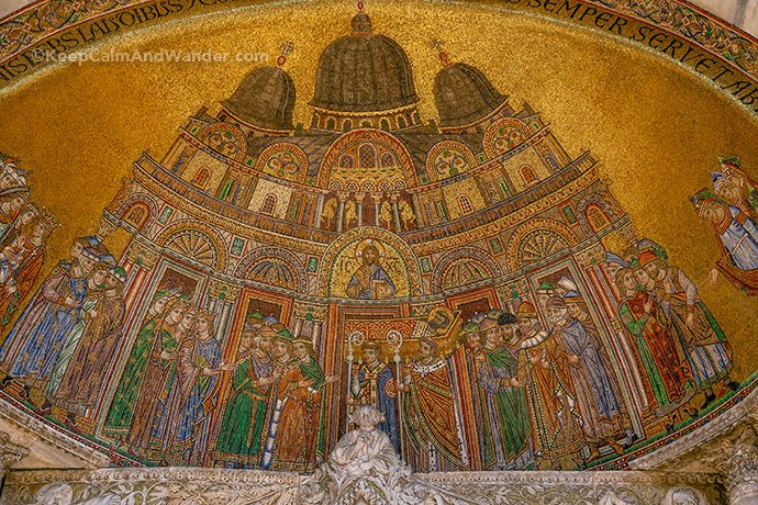 The Mosaics of San Marco Basilica (Venice, Italy).
