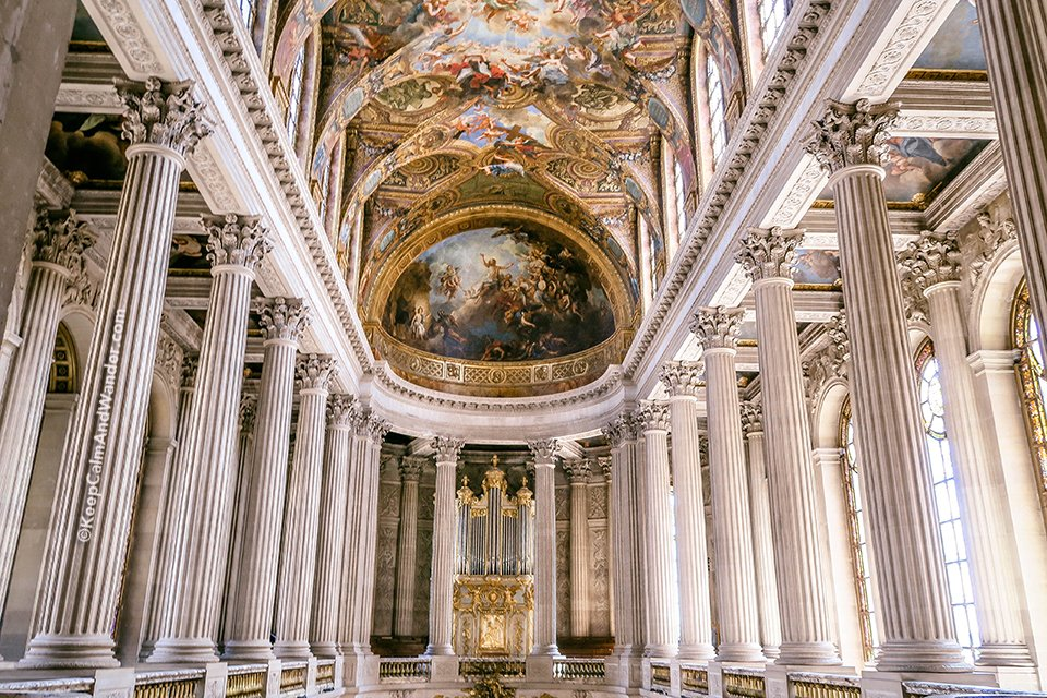 The Royal Chapel / Take A Peek: The Stately Rooms of the Palace of Versailles (France).