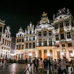 I Visited The Grand Place in Brussels at Midnight And I Was Surprised to See a Crowd of Hedonists