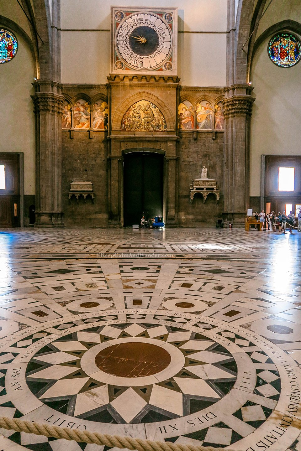 Inside Florence Duomo Isn't as Grand as Its Facade (Italy).