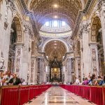 What You See Inside St Peter Basilica in the Vatican
