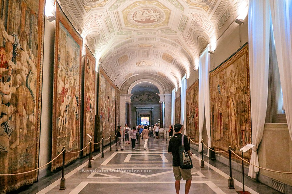 Inside the Spectacular Vatican Museums (Rome, Italy).