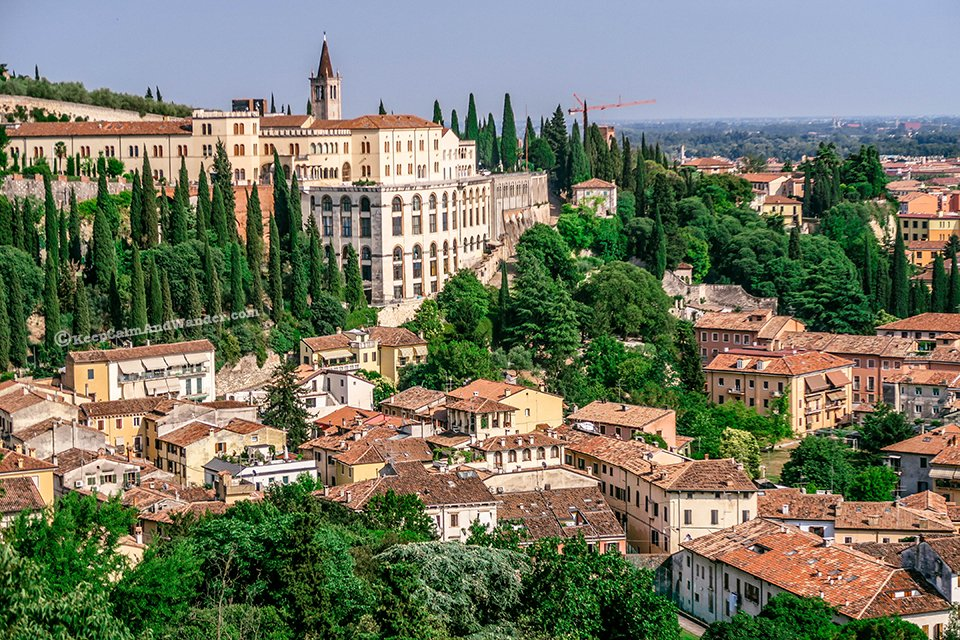 Verona Skyline - A Perfect Setting for the Story of Star-Crossed Lovers (Italy).