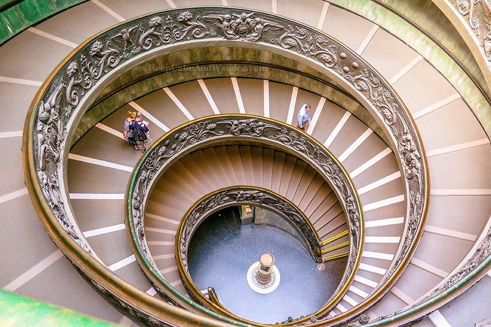 I Walked Like a Beauty on This Spiral Staircase at the