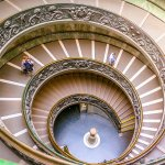 I Walked Like a Beauty on This Spiral Staircase at the Vatican Museum