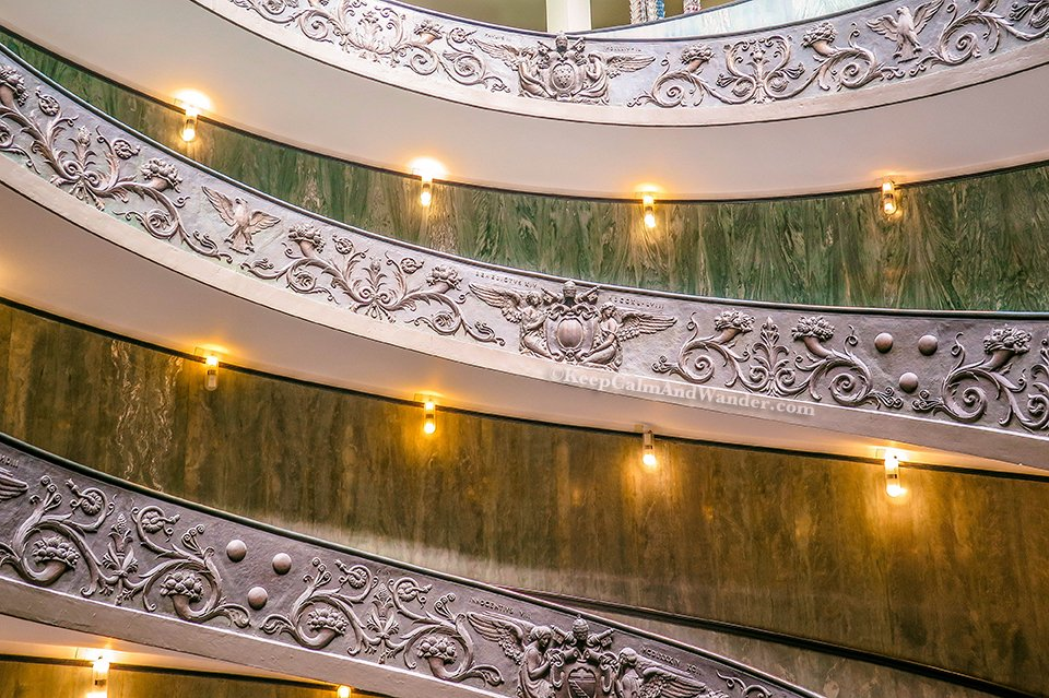 This Spiral Staircase at the Vatican Museum is Dizzying (Rome, Italy).