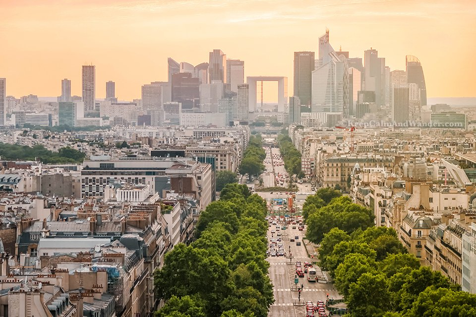 Interesting Facts About Paris and the Views FroInteresting Facts About Paris and the Views From the Arc de Triomphe (France).m the Arc de Triomphe (France).
