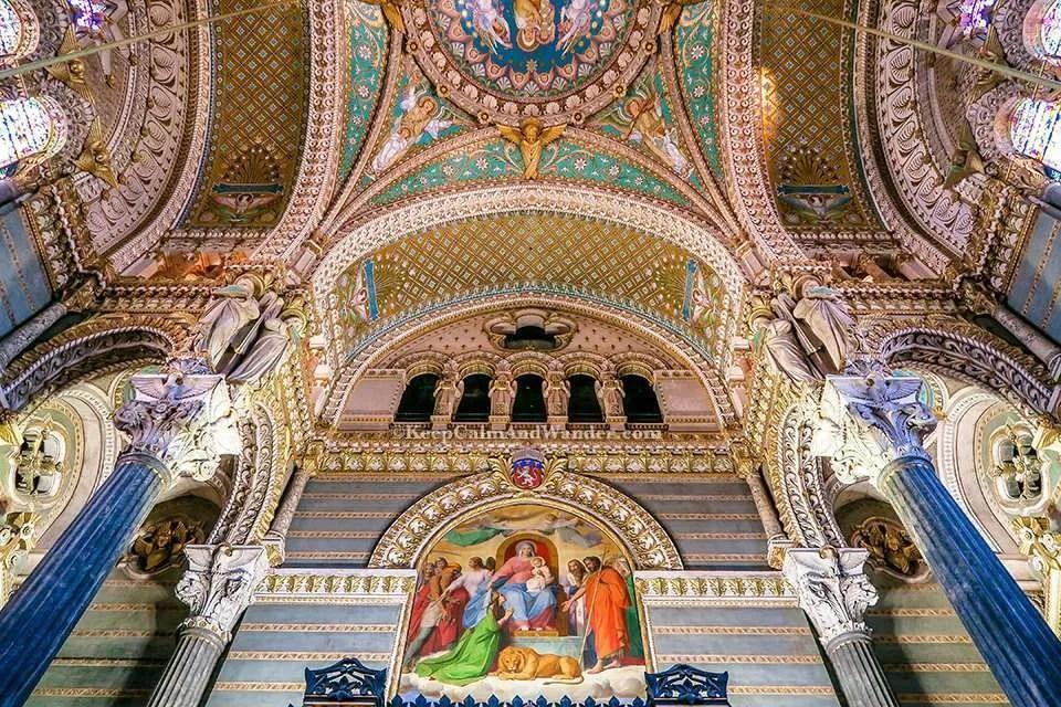 City of Lyon (France).