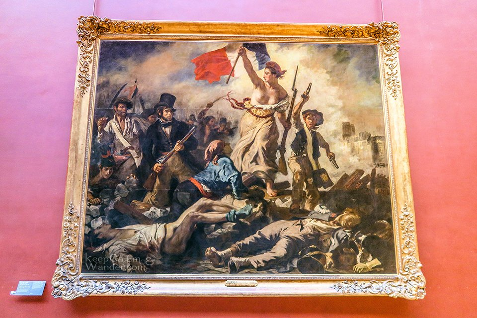 10 Masterpieces Not To Miss at Louvre Museum in Paris (Liberty Leading the People).