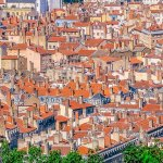City Skyline: Lyon Panorama From the Hilltop