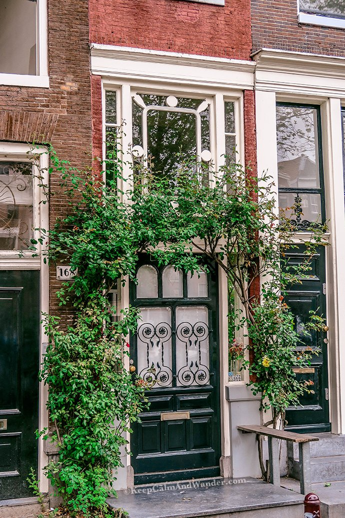 The narrowest house in Amsterdam is on 7 Singel Street.