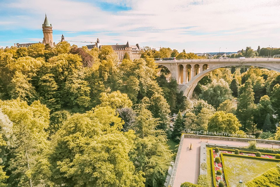 The Grund is a Charming District of Luxembourg.