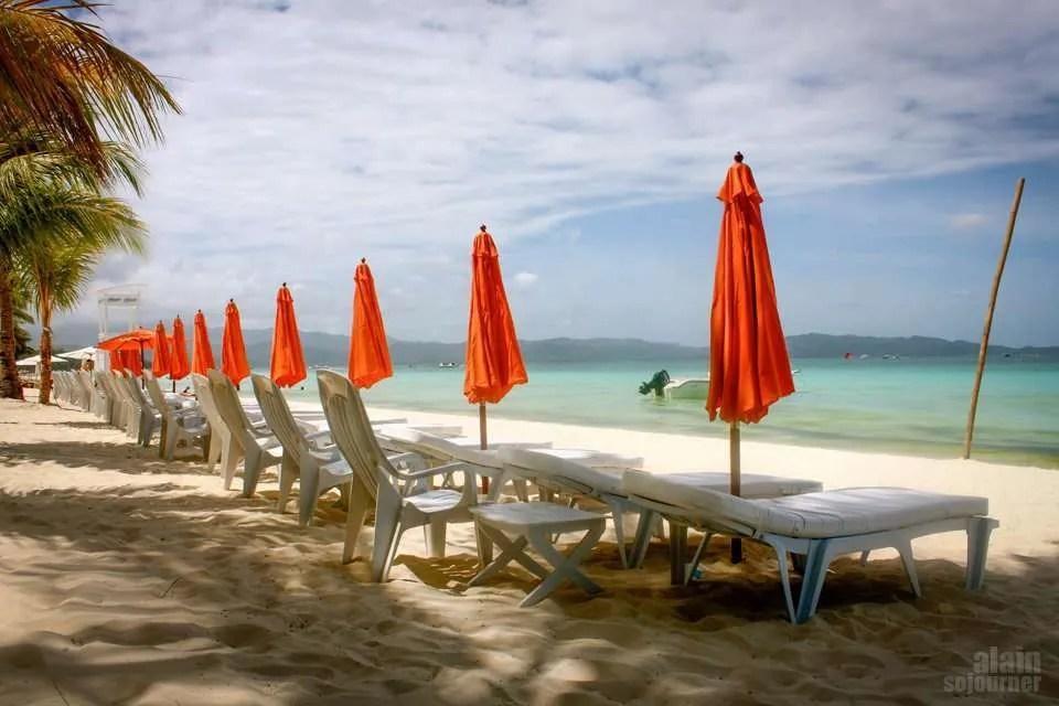 Boracay Beach Island in the Philippines is a paradise.