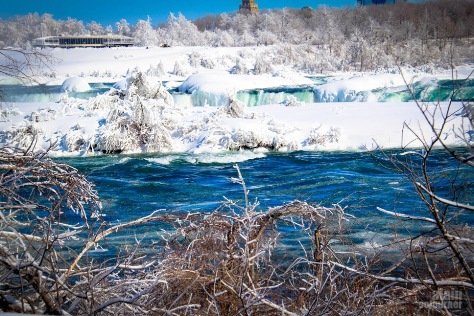 Frozen Niagara Fall