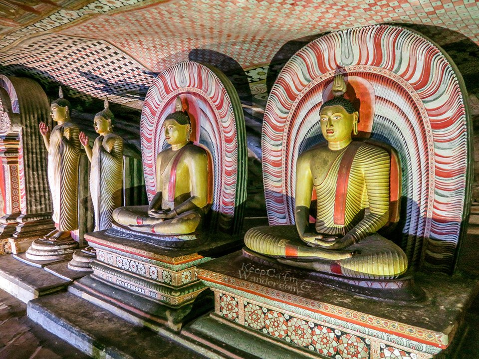 Dambulla Cave Temple is The Sistine Chapel of the Buddhism World (Sri Lanka).