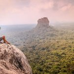 I Climbed the Pidurangala Rock in Sigiriya and Wore My Rainbow Wig on the Summit