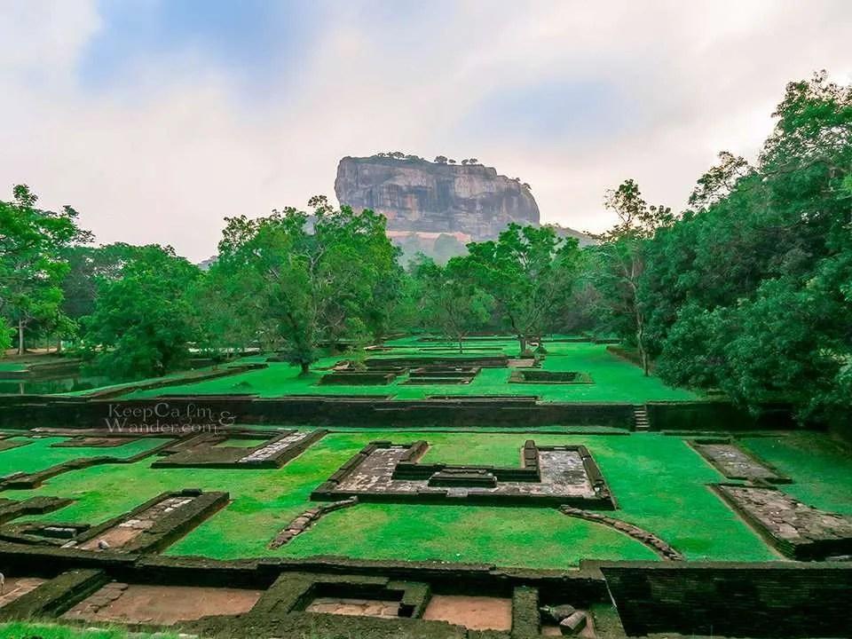 The Lion Rock of Sigiriya is the Eight Natural Wonder of the World? (Sri Lanka)