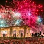 The Fireworks at Yanbu Flower Festival