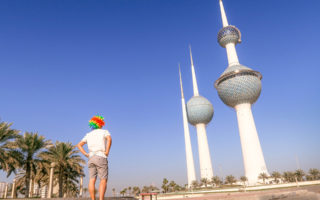20 Photos From Kuwait (Kuwait Skyline).