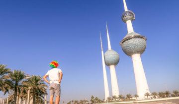 20 Photos From Kuwait (Kuwait Skyline).