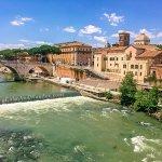 There's an Island in the Middle of Rome and It's Called Tiber