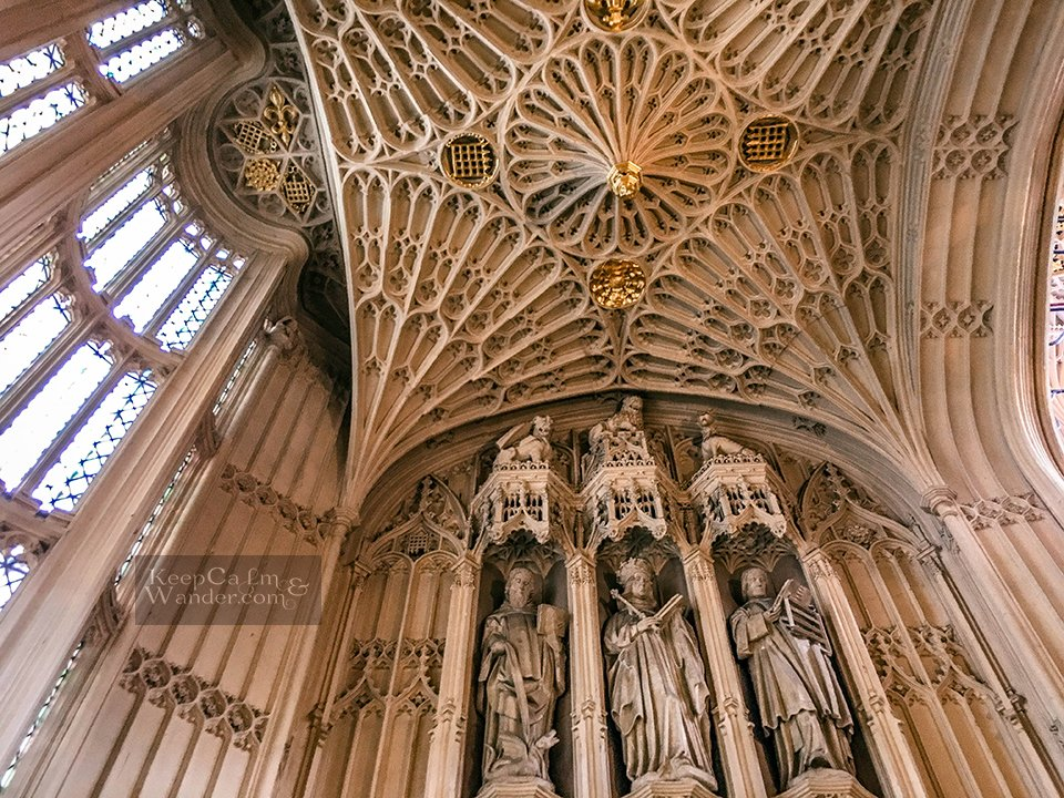 Inside Westminster Abbey in London - A Royal Coronation Venue, A Religious Site and A Cemetery (England).